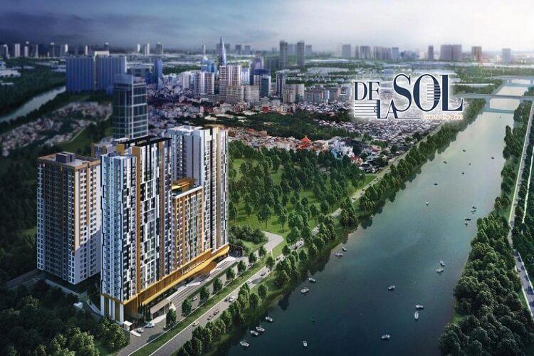 Phối cảnh dự án De La Sol Quận 4