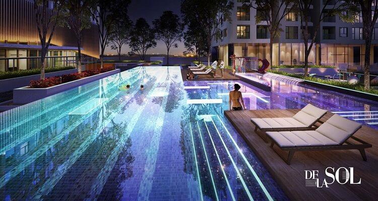 Tiện ích hồ bơi dự án De La Sol